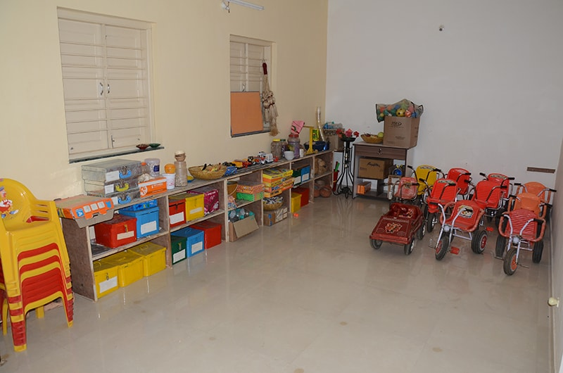 ACTIVITY ROOM AT PRIMARY SCHOOL - BHUJ