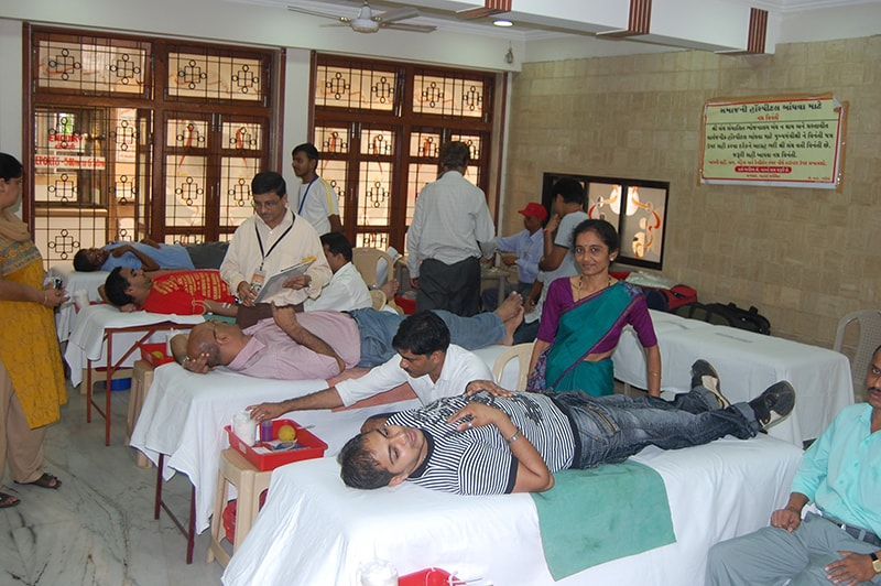 BLOOD DONATION CAMP AT DADAR 1