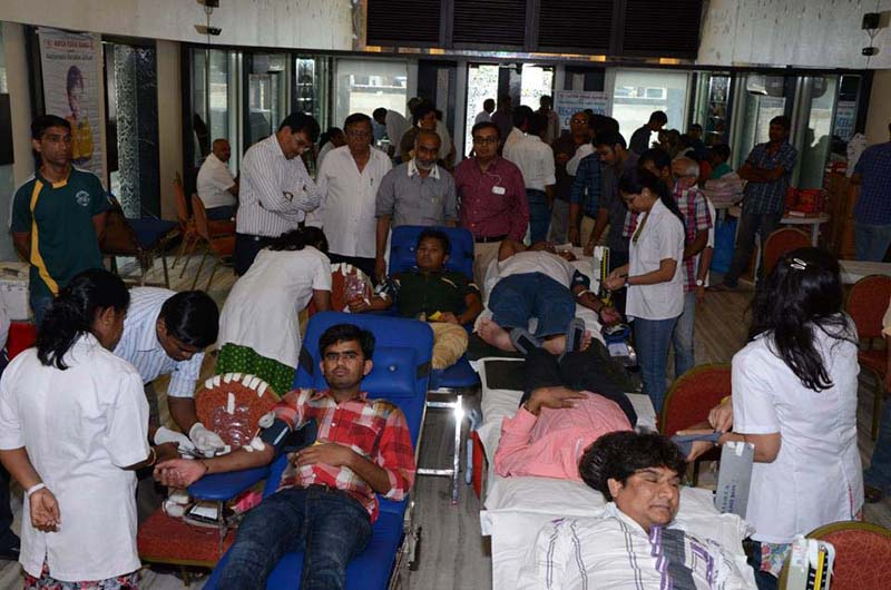 BLOOD DONATION CAMP AT DADAR 2