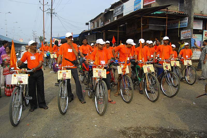 PILGRIMAGE TO MATA NO MADH ON BICYCLE